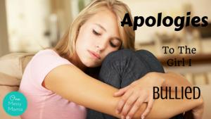 Apologies - Bullied